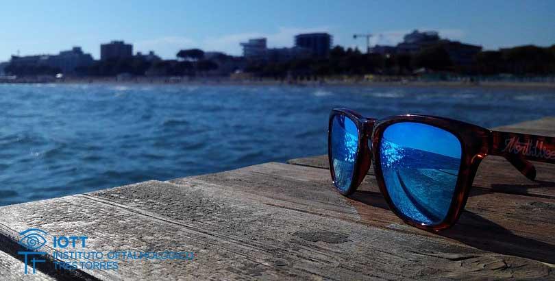 gafas sol proteger ojos verano