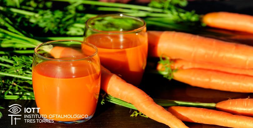 zumo zanahoria vitamina a