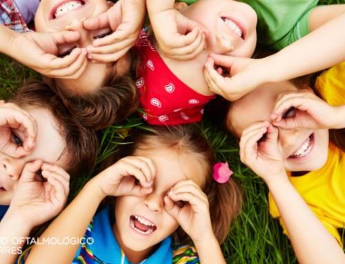 Enfermedades visuales en los niños
